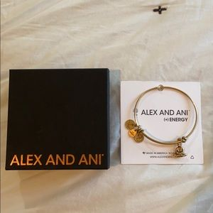 NWT and Box, Alex and Ani Expandable Wire Bangle